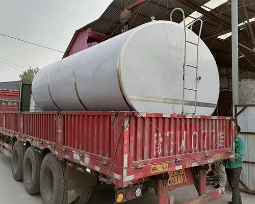 大型运输罐发货