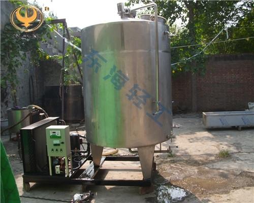 不锈钢冷却罐的运用主要在那些行业
