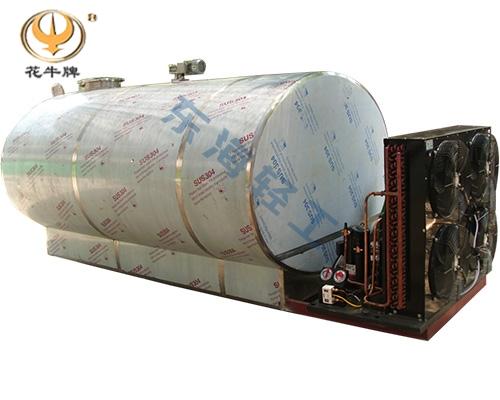 宁夏5吨卧式直冷式冷藏罐