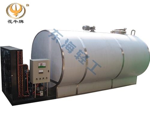 宁夏6吨卧式直冷式冷藏罐