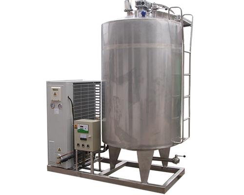 3吨立式直冷式冷藏罐